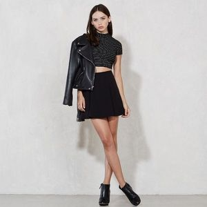Reformation Gale Skirt in Black size XS